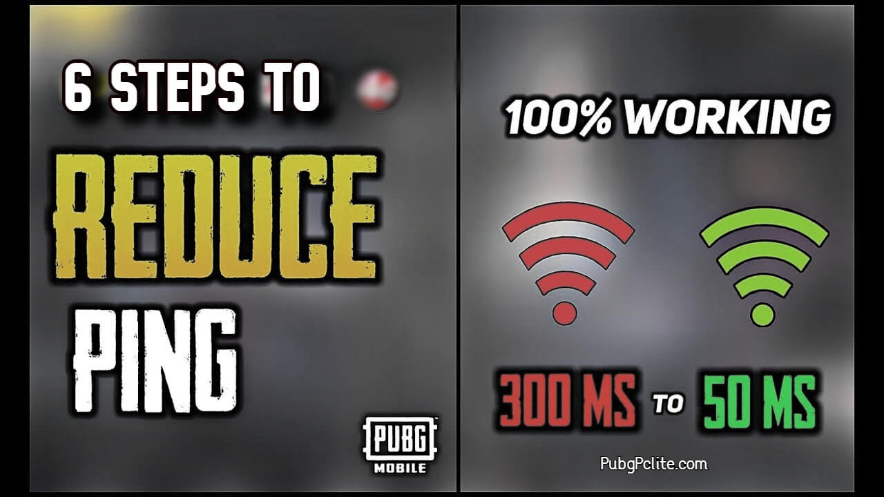 Get low ping in PUBG Mobile