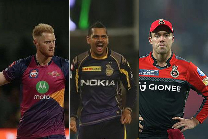 Top 5 Foreign players in IPL
