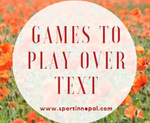 Games to Play Over Text