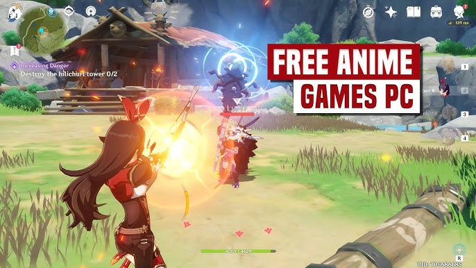 Anime Games for Free